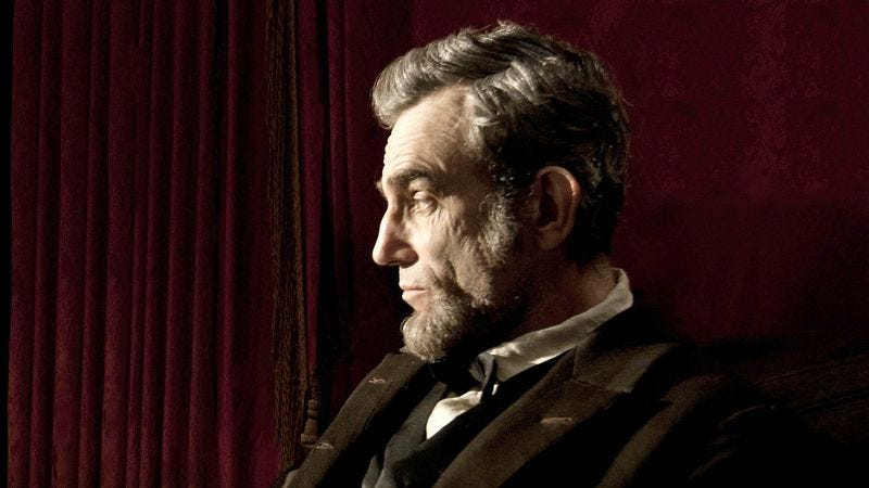 Illustration for article titled Spielberg Panics, Adds Comical Groin Injuries To 'Lincoln'
