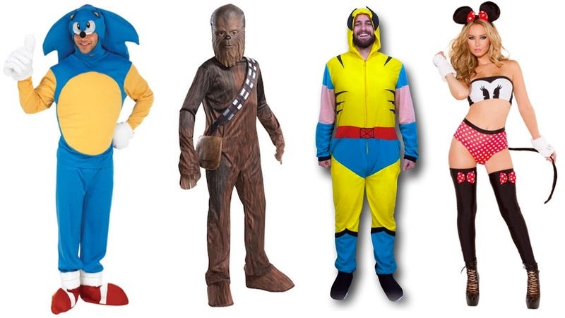 Illustration for article titled 30 héroes de nuestra infancia que los fabricantes de disfraces arruinaron por completo