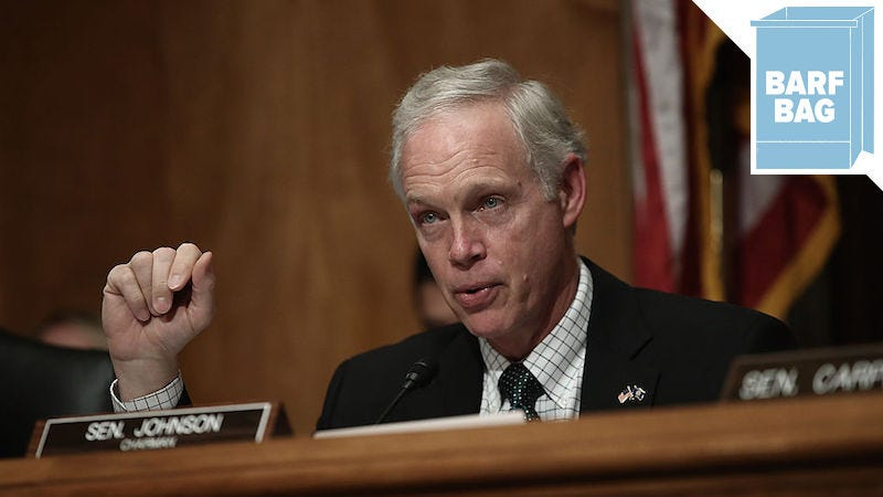 Secret society hunter Ron Johnson. Image via Getty.