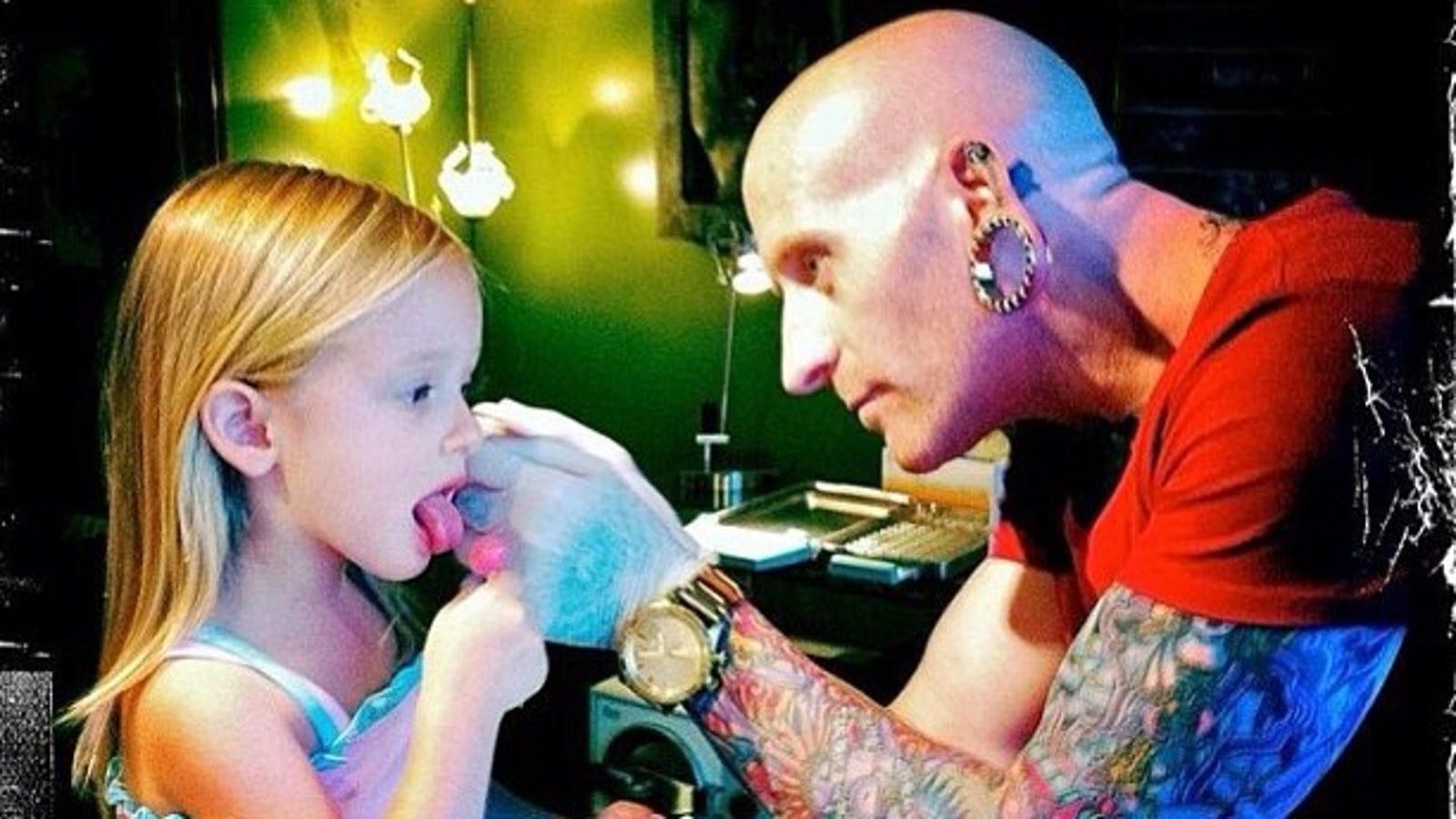 Get Your Kids Ears Pierced At A Tattoo Shop Because They Know What