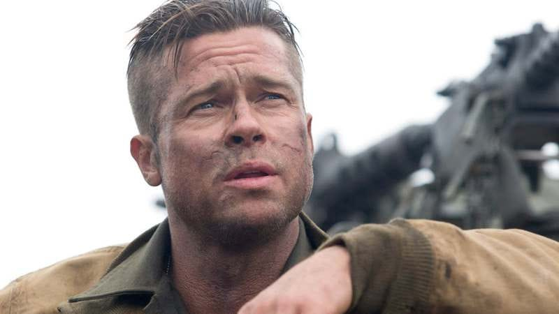Brad Pitt in Fury, which was about WWII and not the Messiah War, but you get the picture