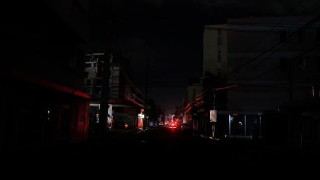 A Magnitude 6.4 Earthquake Has Knocked Out Power For All of Puerto Rico