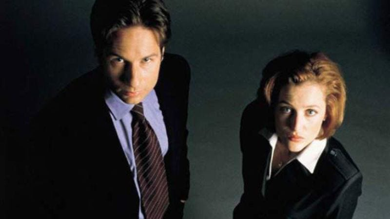 Illustration for article titled David Duchovny says he and Gillian Anderson will act better on the new X-Files