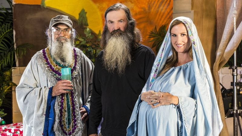 """Illustration for article titled Duck Dynasty: """"O Little Town Of West Monroe"""""""
