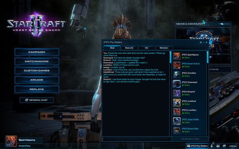 Illustration for article titled This Is What Clans Will Look Like In StarCraft II: Heart of the Swarm