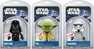 Illustration for article titled Never Use the Force and Remove These Star Wars Earbuds From Their Packaging
