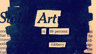"Illustration for article titled ""Art Is 99 Percent Robbery"""