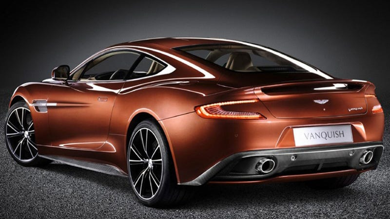 Illustration for article titled The New Aston Martin Vanquish Isn't As Fast As You'd Think