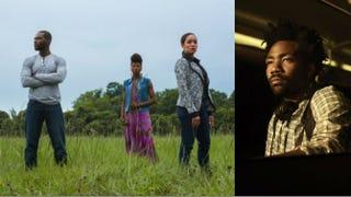 Cast of Queen Sugar; Donald Glover in AtlantaOWN; FX