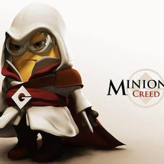 Illustration for article titled Minion Creed