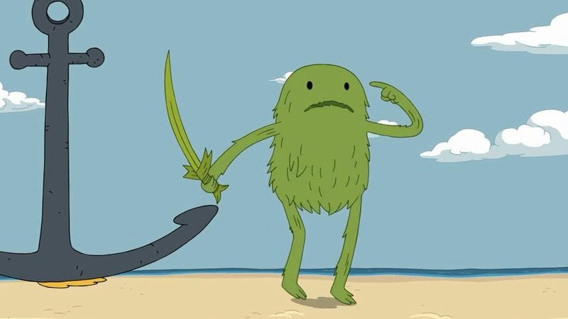 Finn Meets His New Plant Doppelganger In Adventure Time S