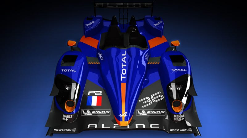 Illustration for article titled This Alpine Is Going To Le Mans