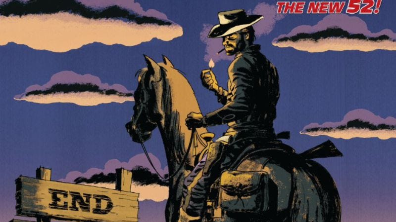 Illustration for article titled  All-Star Western #34 sails into the sunset with Darwyn Cooke