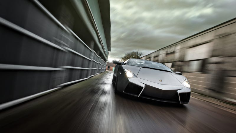 Illustration for article titled Would You Chop The Top Off Your Lamborghini Reventon?
