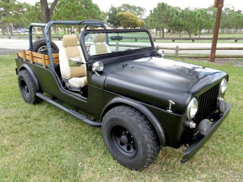 For 8 900 This 1944 Jeep Replica Is Well I Don T Know What