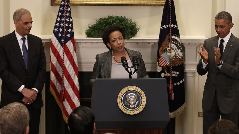 Illustration for article titled ​Obama Officially Nominates Loretta Lynch for Attorney General