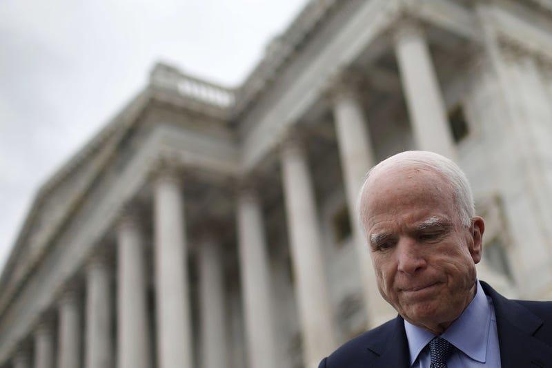 With McCain's return, Pence breaks tie on key health care vote