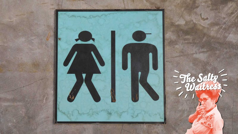 Illustration for article titled Ask The Salty Waitress: Can I use the other restroom?