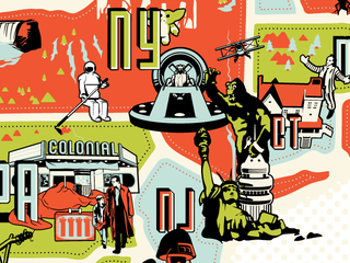 Illustration for article titled Crowdfund a map of the science fictional history of the US