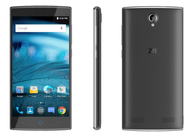 Illustration for article titled If you're looking for a cheap/decent unlocked Android phone, try the ZTE ZMAX 2