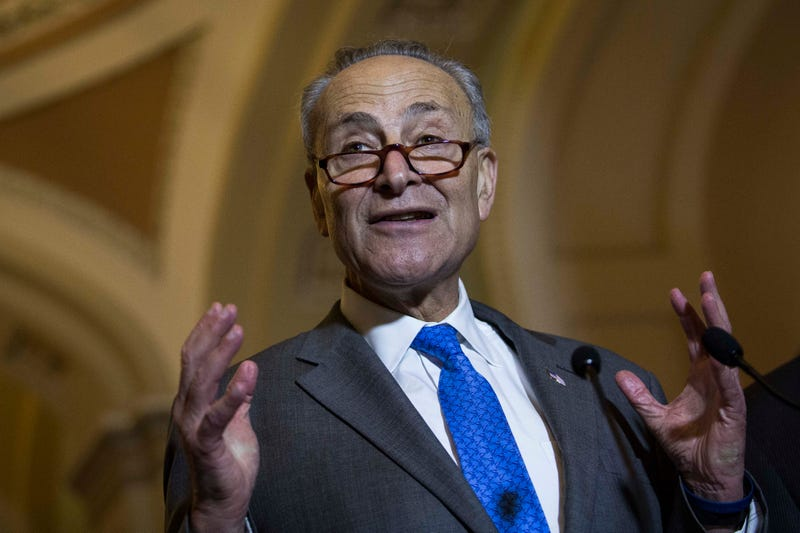 Sen. Chuck Schumer (D-N.Y.) in 2015 Drew Angerer/Getty Images