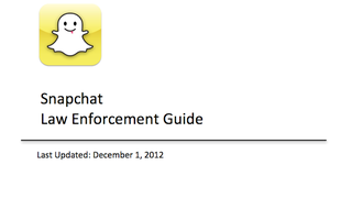 Here's How Cops Get Your Snapchat History