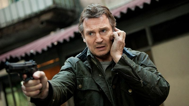 Illustration for article titled Weekend Box Office: Families just can't get enough of Liam Neeson losing his family
