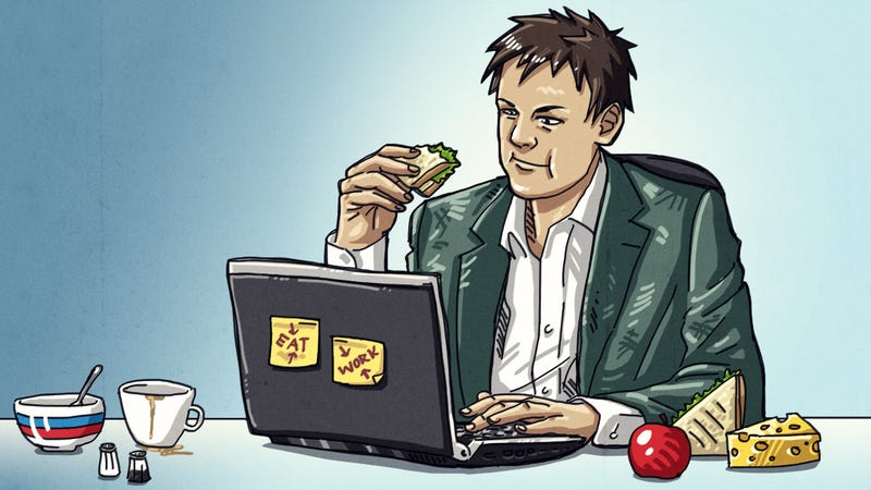 Illustration for article titled How Can I Eat Well While Working from Home?
