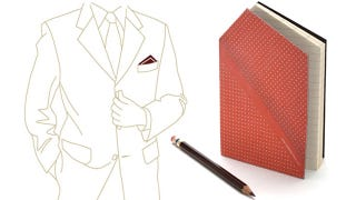 Illustration for article titled Hankie Notepads Keep Reporters Looking Dapper