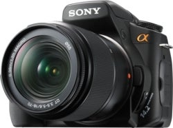"Illustration for article titled Pogue Reviews Sony A300 DSLR: Live View ""Perfection"""