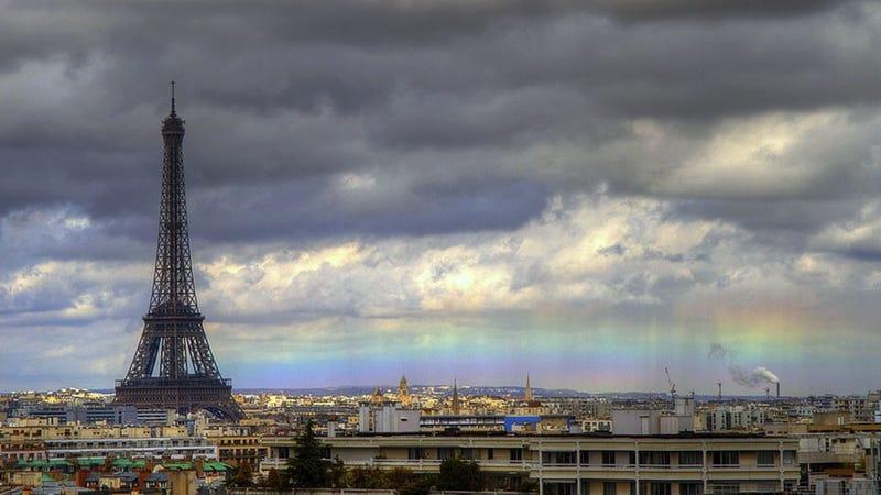 ¿Por qué se producen los arco iris horizontales?