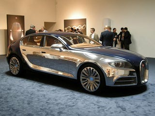 Illustration for article titled Four-Door Bugatti Galibier 16C Live, And In The Insanely Expensive Metal Flesh