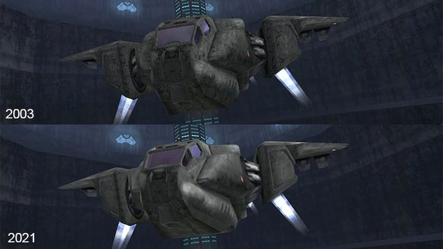 18 Years Later, Microsoft Is Fixing Halo's Graphics On The PC