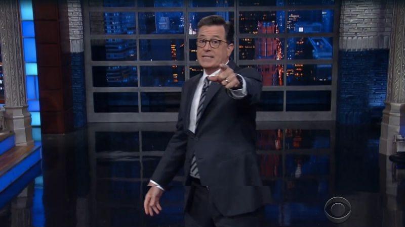 The Late Show With Stephen Colbert (Screenshot: CBS)