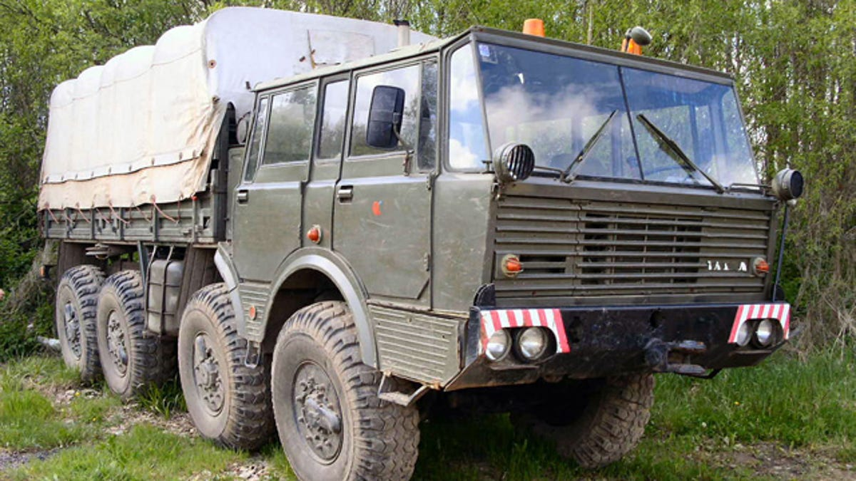 8x8 Tatra is worth Czech-ing out