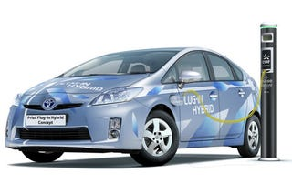 Illustration for article titled Toyota Prius Plug-In Hybrid Concept Plans Euro Vacation