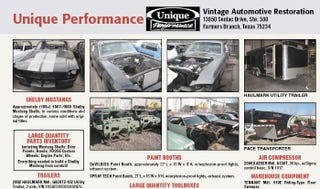 Illustration for article titled Unique Performance Assets, Hundreds Of Shelby Mustang Shells Going Up For Auction
