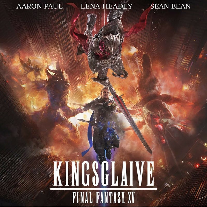 Unlike The Spirits Within, which told its own story, and Advent Children, which served as VII's grand finale, Kingsglaive serves as a feature-length opener to the XV universe.