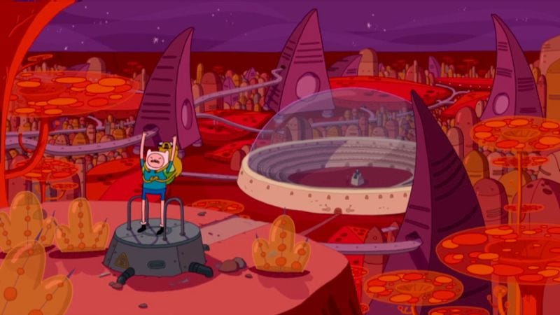 """Illustration for article titled Adventure Time: """"Son Of Mars"""""""