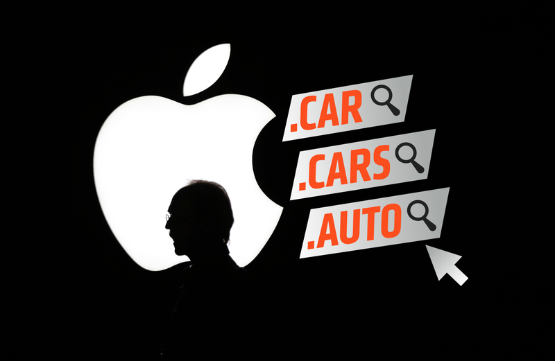 Illustration for article titled Apple Just Called Dibs On A Few Car-Related Domain Names