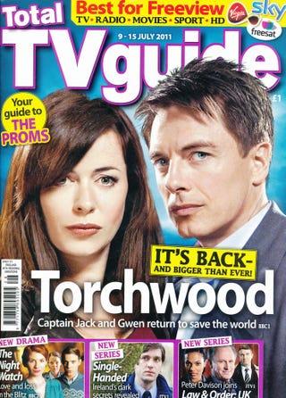 Illustration for article titled Torchwood TV Guide Scans