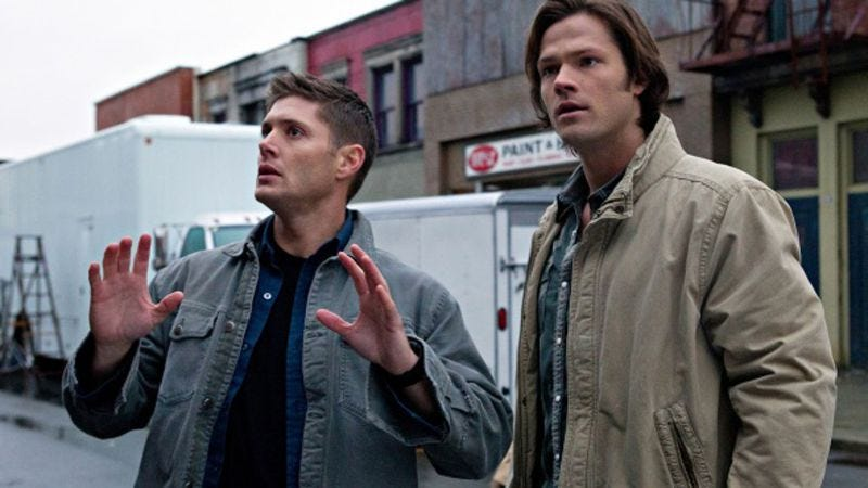 Illustration for article titled Supernatural will creep past 200 episodes by biting chunks out of other genres