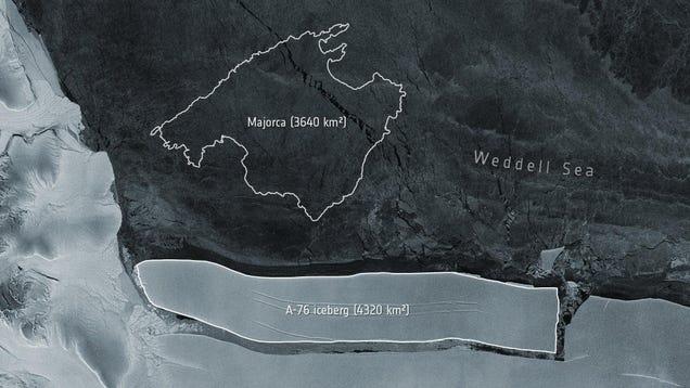 The World's Largest Iceberg Just Broke Off Antarctica