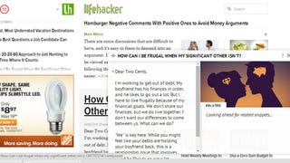 Illustration for article titled Streamfully Previews Links You Hover Over with Personalized Content