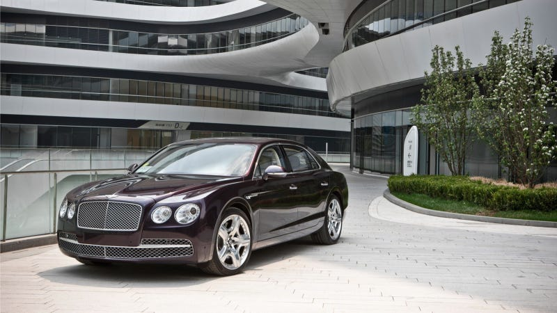 Illustration for article titled Bentley Launches New Flying Spur In Milan
