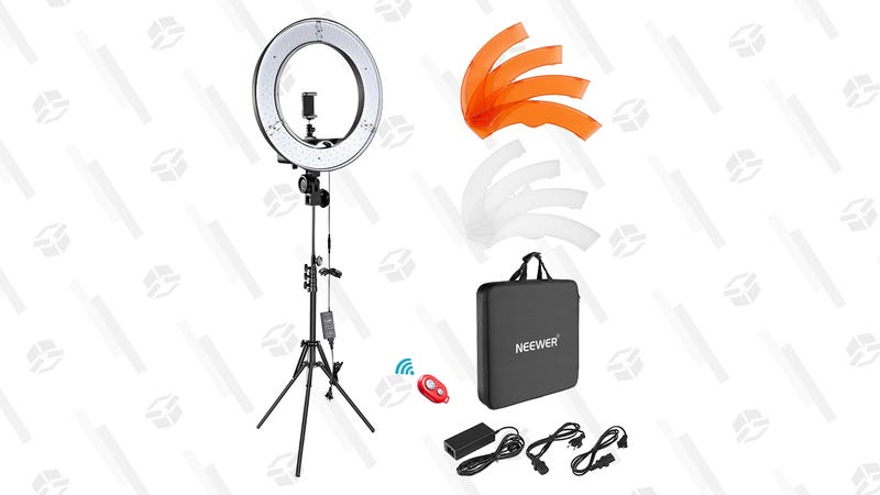 Neewer Ring Light Kit | $90 | Amazon | Clip the $20 coupon