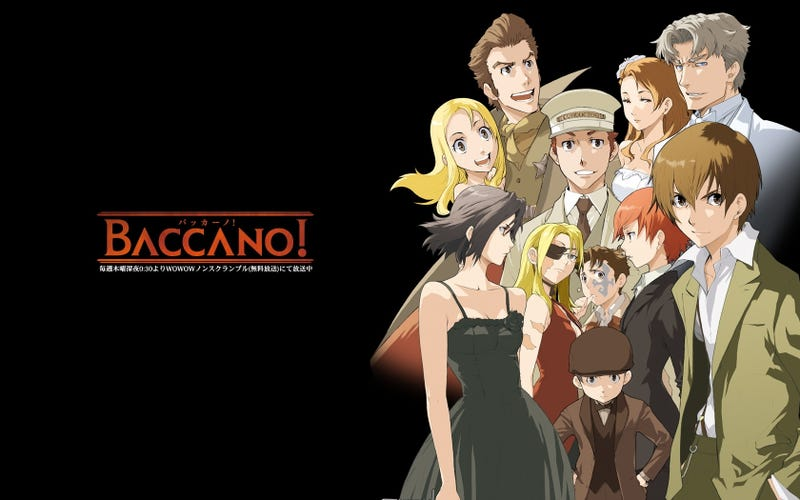Illustration for article titled Breaking News: Baccano Greenlit For Further Seasons
