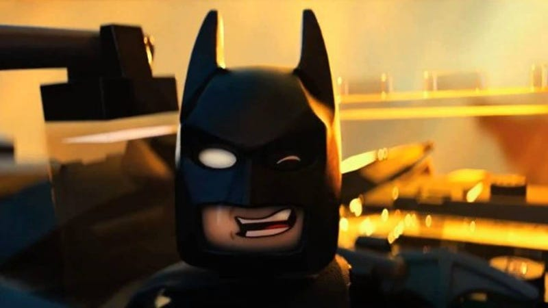 Illustration for article titled Christopher Nolan Was Asked to Bless The LEGO Movie's Jerk Batman
