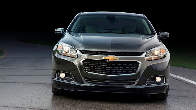 Illustration for article titled 2014 Chevy Malibu: Her?