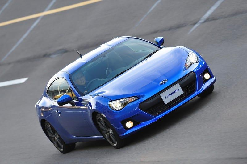 Illustration for article titled Subaru BRZ: Live Photos